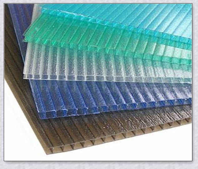 6 10mm Hollow Polycarbonate Clear Sheets For Greenhouse Carport Awning Roofing Sheets Plastic Roofing Roofing