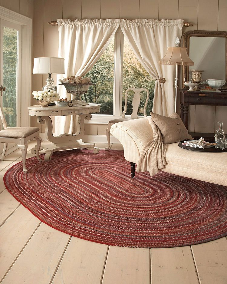 Americana Country Red Capel Rugs