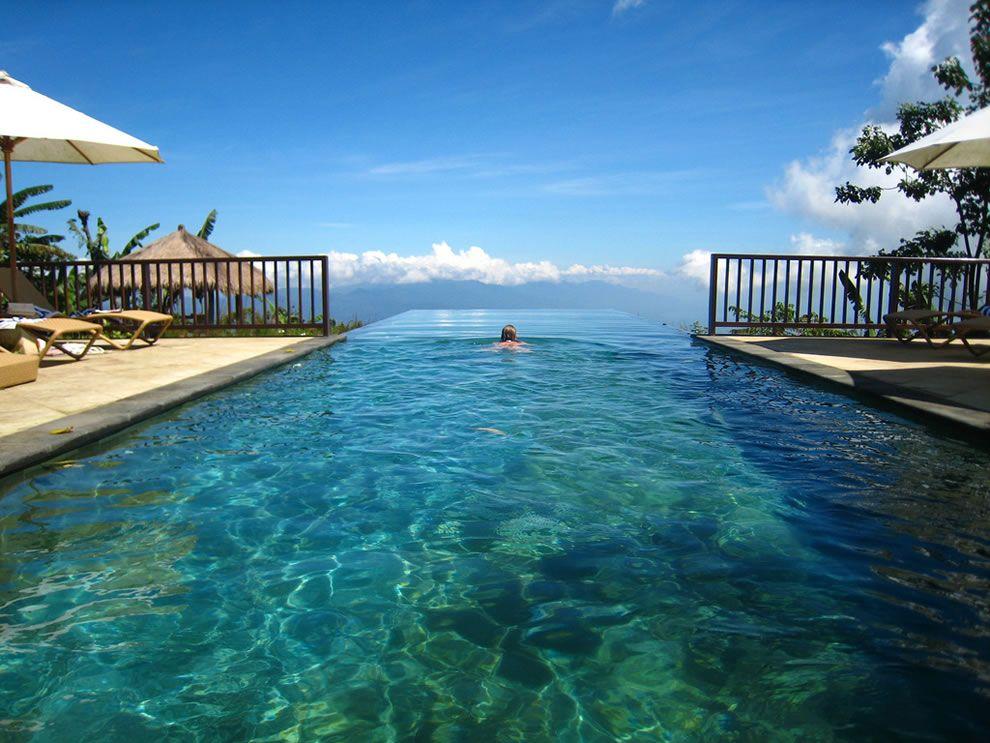 Beautiful Amazing Infinity Pool