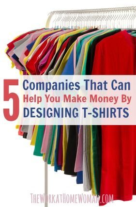 10 Companies That Can Help You Make Money By Desig