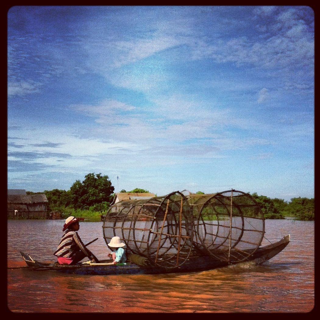 Floating Village, #Cambodia