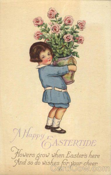 Happy Eastertide Vintage Greeting