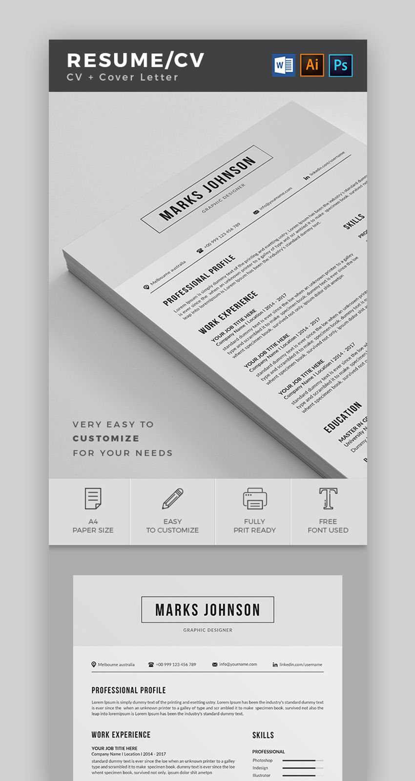 20 Best Contemporary (New Styles) Resume Templates (For