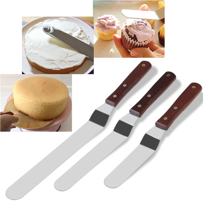 3PCS Icing Spatulas | Kitchen Gadgets | Cake decorating ...
