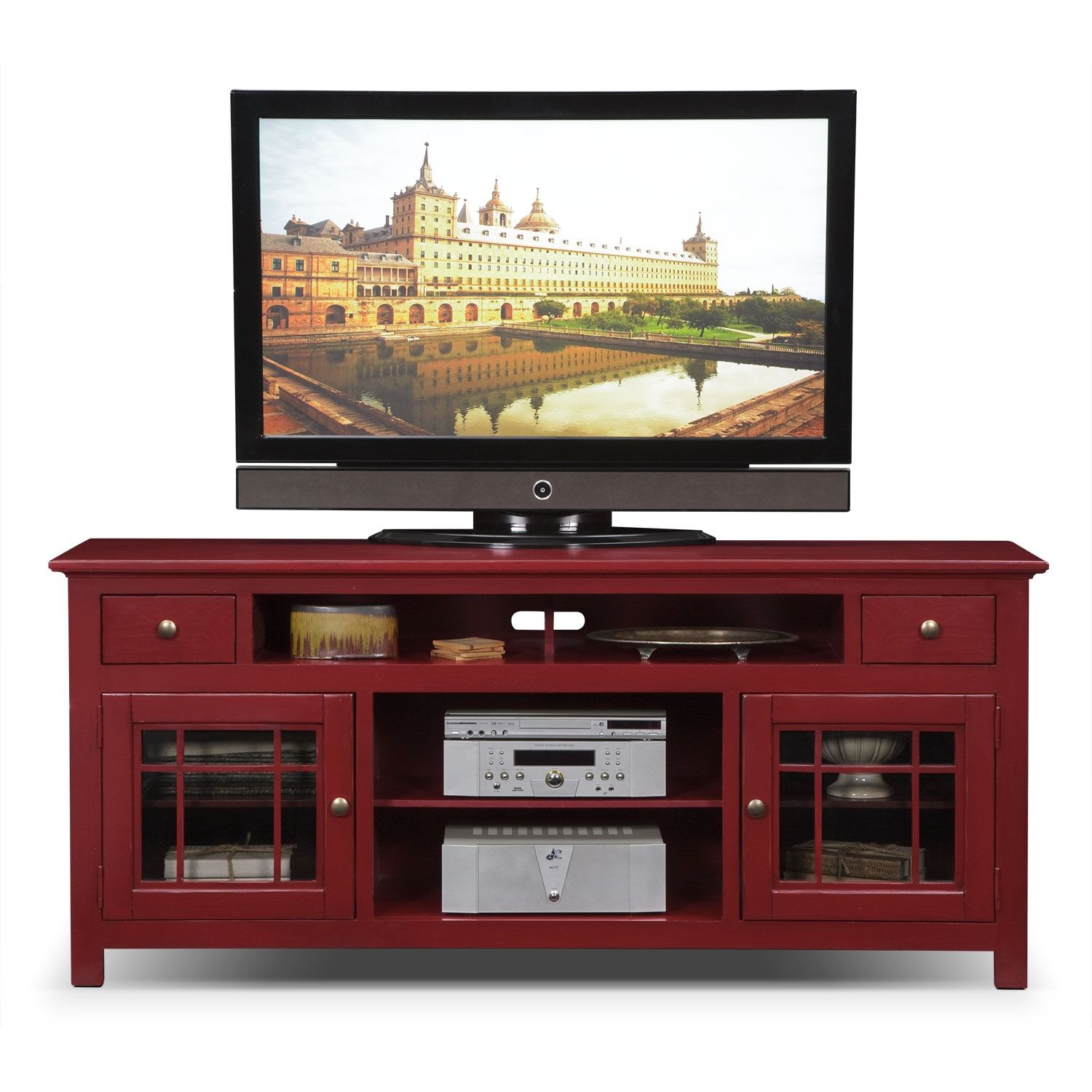 Merrick Tv Stand Fireplace Tv Stand Red Tv Stand Value City