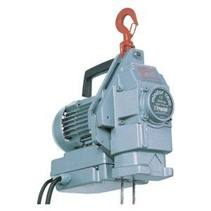Electric Wire Rope Hoist Cap 1 2t By Griphoist 5526 06 Electric Wire Rope Hoist Single Speed Capacity 1 2 Ton Electrical Wiring House Materials It Cast