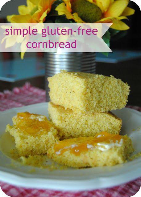 Simple Gluten-Free Cornbread | Gluten free cornbread ...
