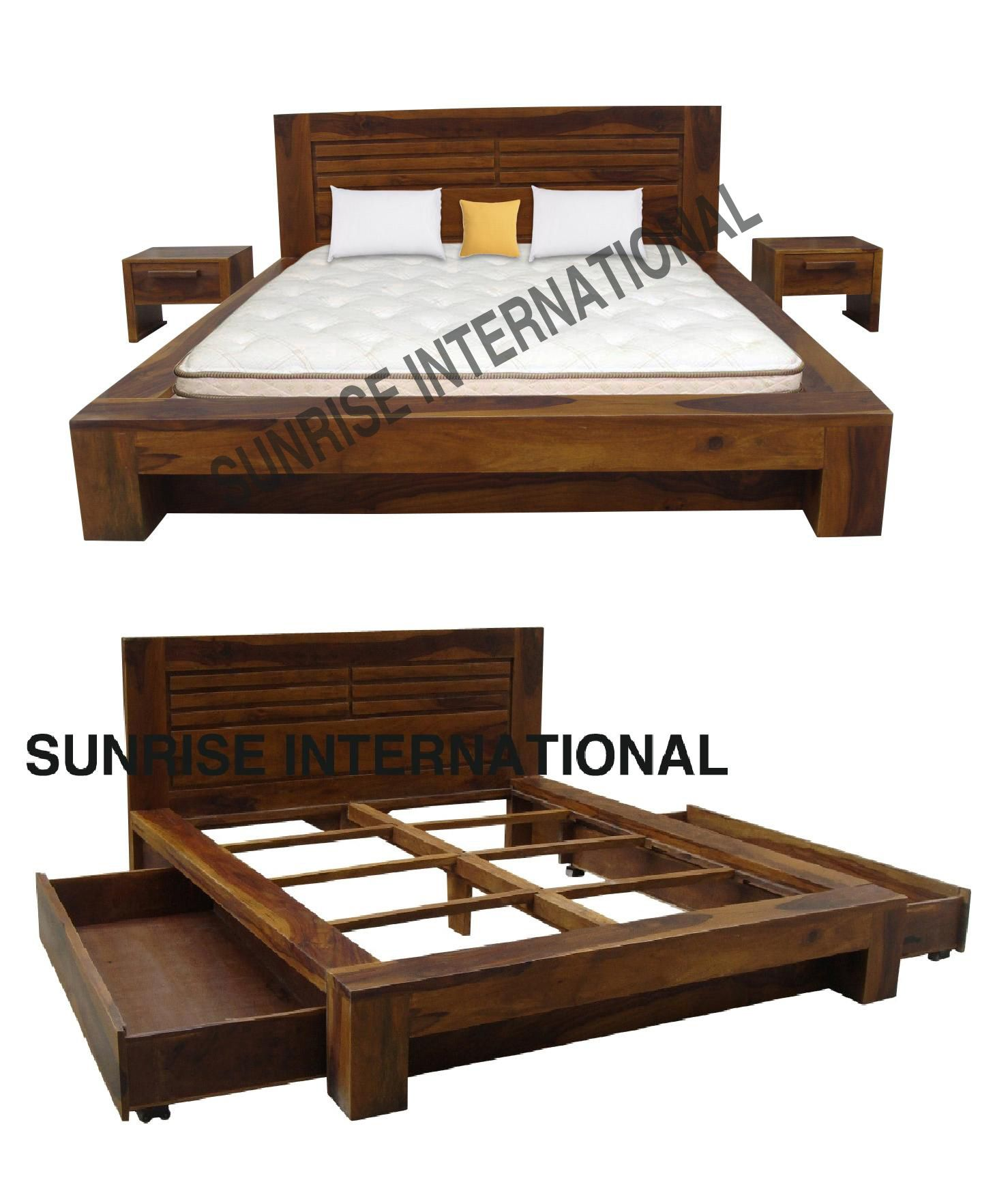 Wooden bed furniture design - Wooden Bed Beds Design Bedroom Furniture Designs India Email Jetain Sunriseartexports