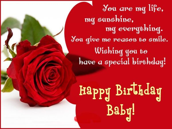 Birthday Messages For Girlfriend Cards Wishes Lover Happy