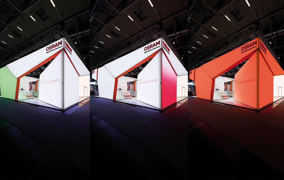 Marvelous Booth Osram Opto Semiconductors GmbH Bachmann Kern u Partner Solingen SolingenMessestandAusstellungsraumBeleuchtungAnzeigePartnerDesignEphemere