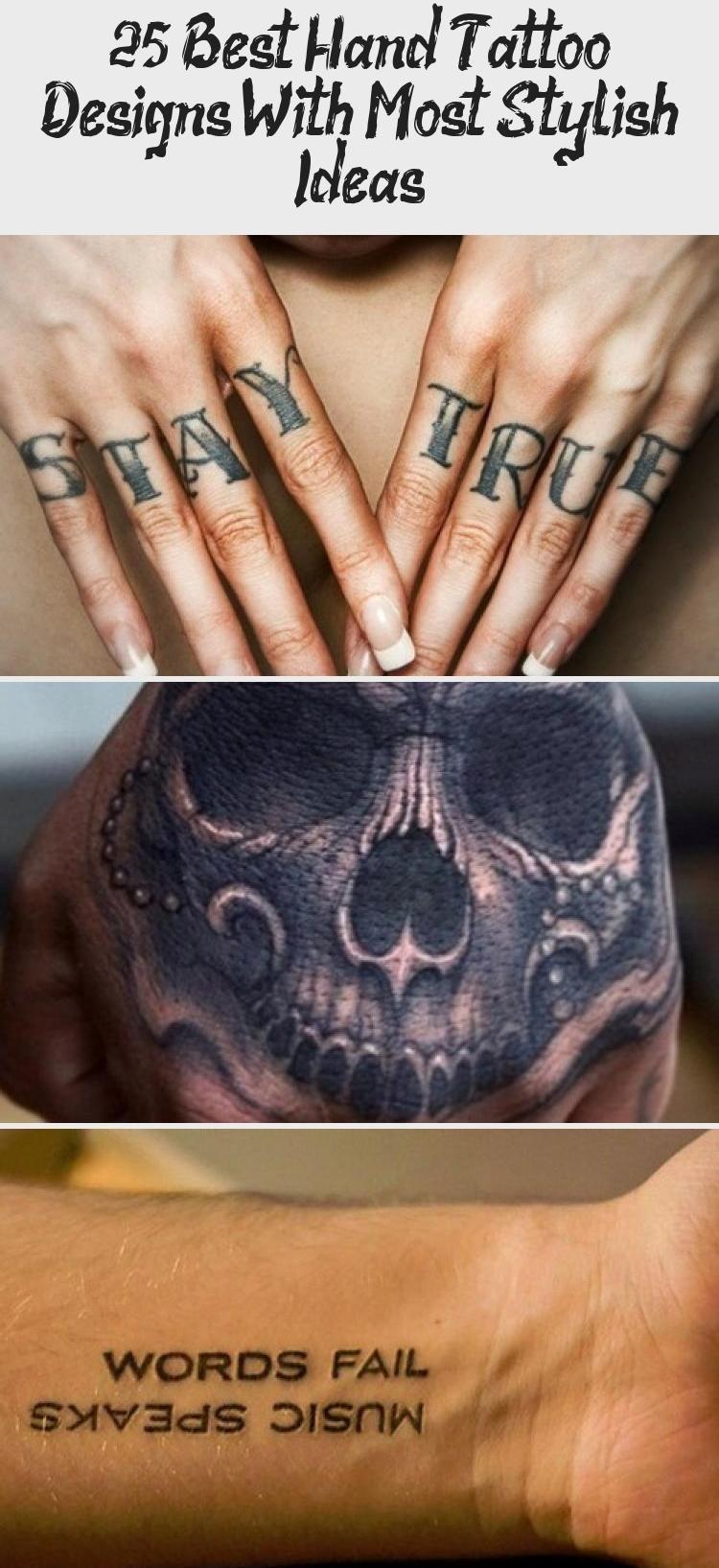 20 besten Hand Tattoo Designs mit den meisten stilvollen Ideen ...