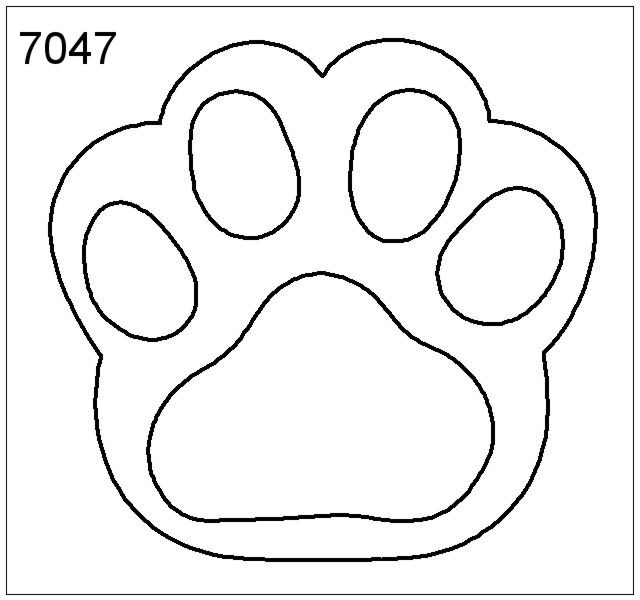 76 Awesome Printable Paw Prints Clip Art Valentines Day