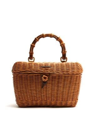 586fe86a92d Click here to buy Gucci Cestino bamboo-handle wooden basket bag at  MATCHESFASHION.COM