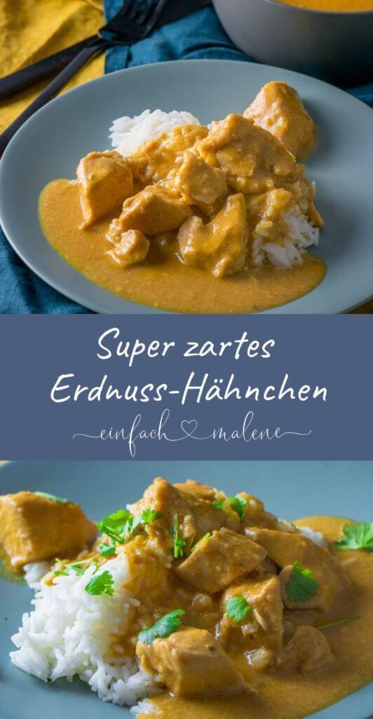 Photo of Super zartes Erdnuss-Hähnchen aus dem Slowcooker