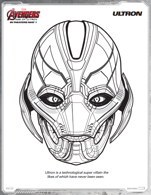 Avengers Age Of Ultron Free Printable Coloring Pages Including Ultron Scarlet Witch Quicksilver T Avengers Coloring Avengers Coloring Pages Marvel Coloring
