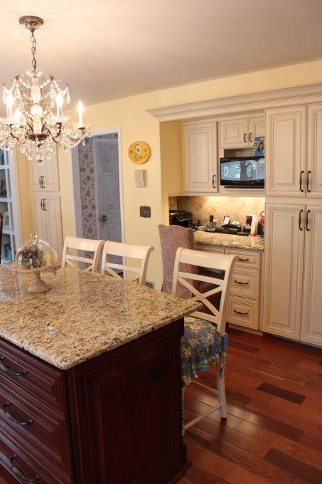Updated Kitchen, Updated kitchen with vanilla maple glazed ...
