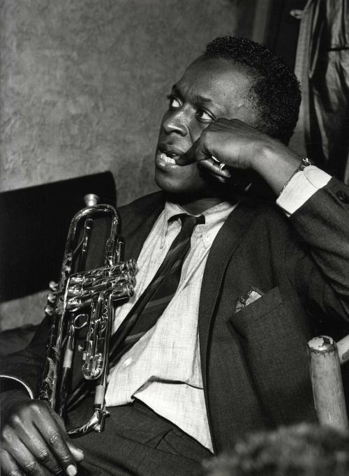 Miles Davis photographed by Serge Jacques
