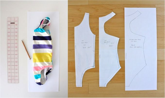 Sewing with spandex for the little gymnast | MADE | po-szyję ...