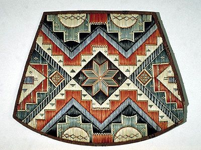 Iroquois Porcupine Quillwork