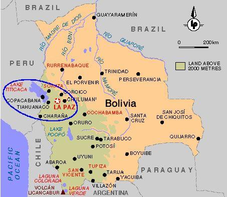 Donde se encuentra lago titicaca