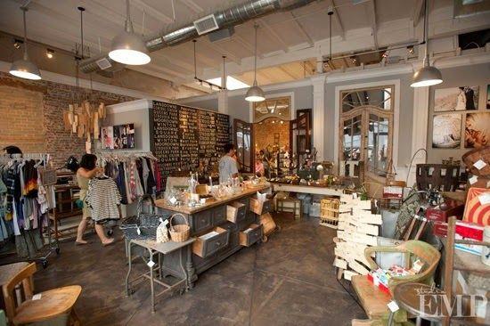 Shop Studio Inspiration Vintage Retail Industrial Design