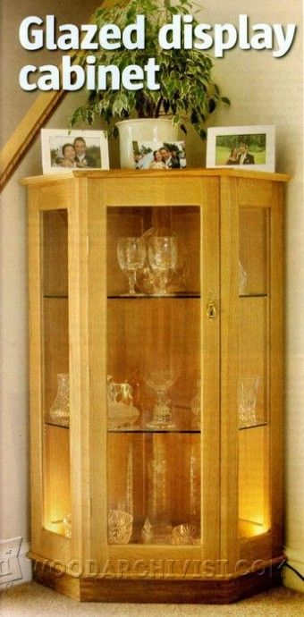 Lovely Curio Cabinet Building Plans