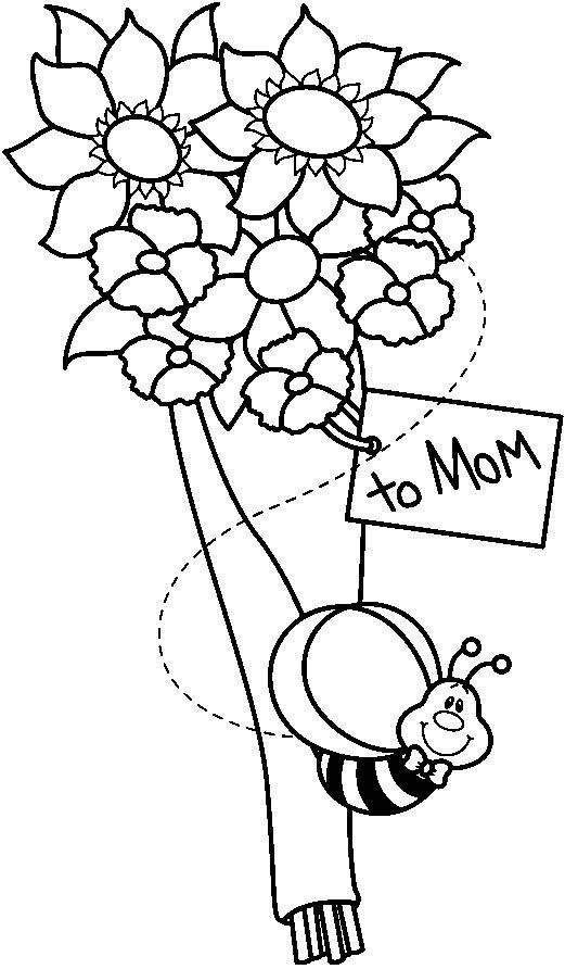 dibujos para colorear: Las flores   FLORES   Pinterest   Colorear ...