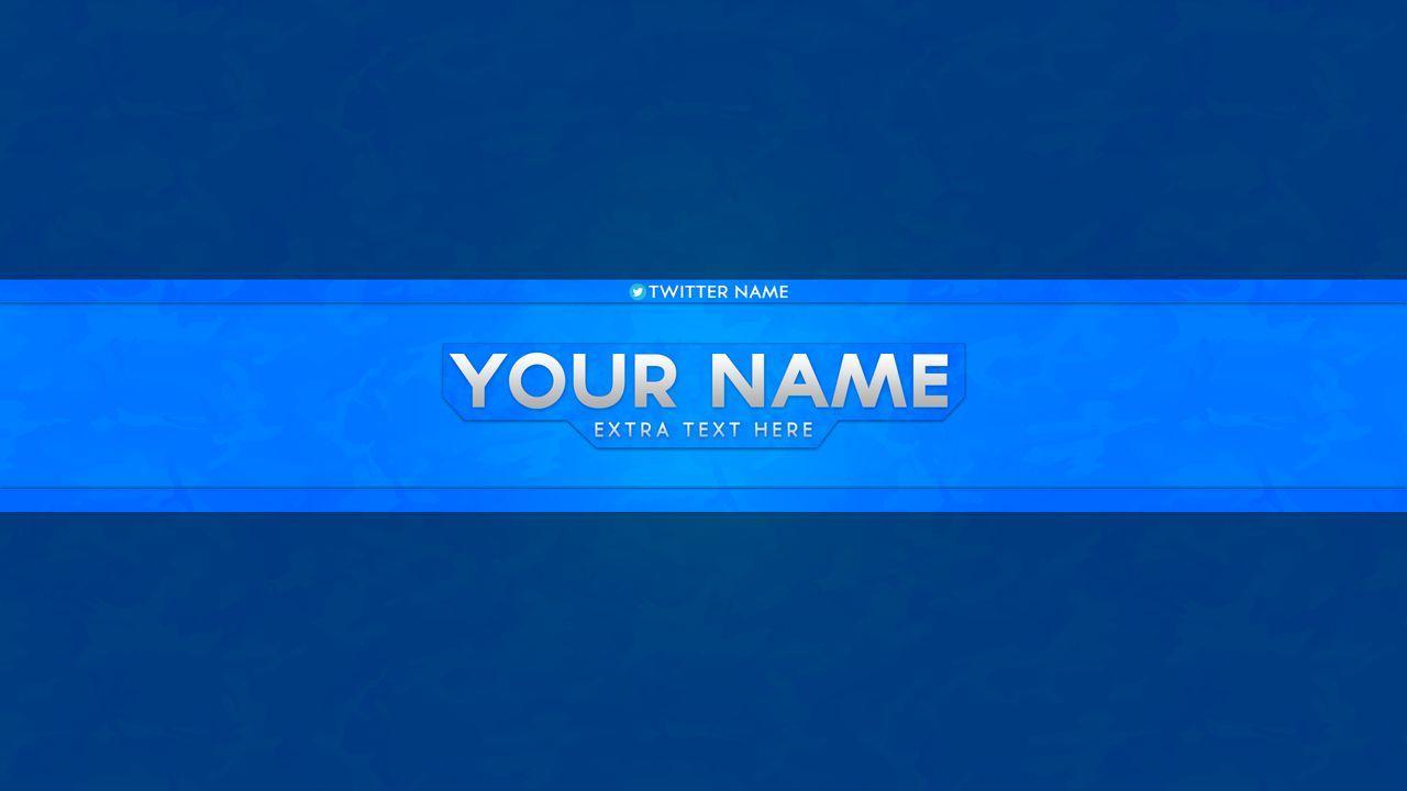 YouTube Banner Template PSD | K | Pinterest | Banner template