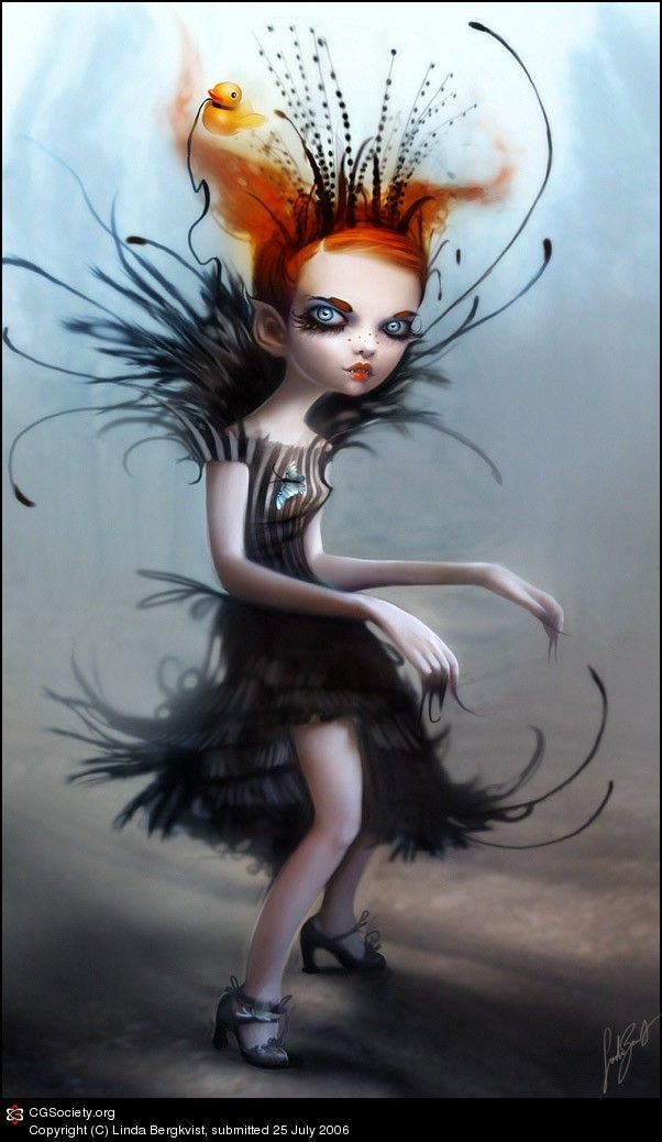 Nicoletta, vampire princess by Linda Bergkvist   2D   CGSociety