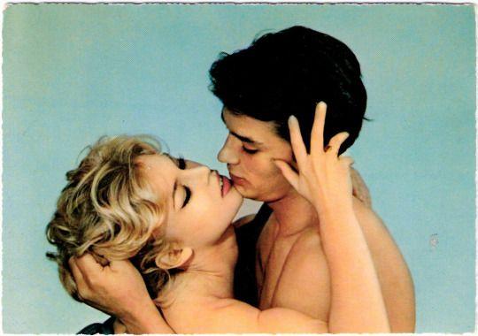 Brigitte Bardot And Alain Delon In Famous Love Affairs 1961