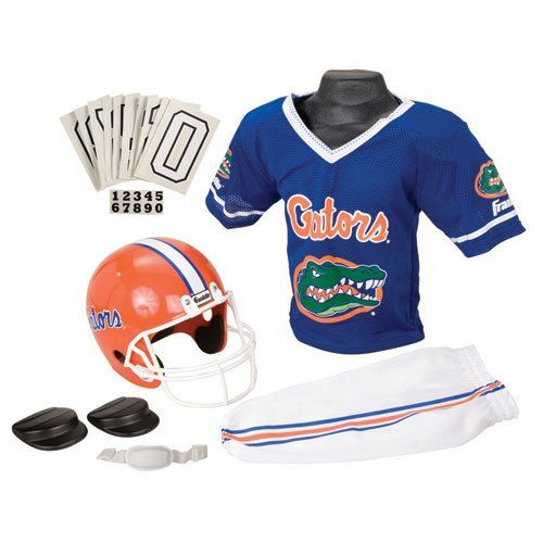 Florida Gators Halloween Costumes. Want to dress up as a Florida Gators fan or football player for Halloween? Everything you will need is right here. Florida Gator costumes.