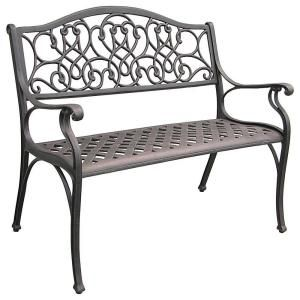 Legacy Aluminum Patio Bench C530 62 At The Home Depot
