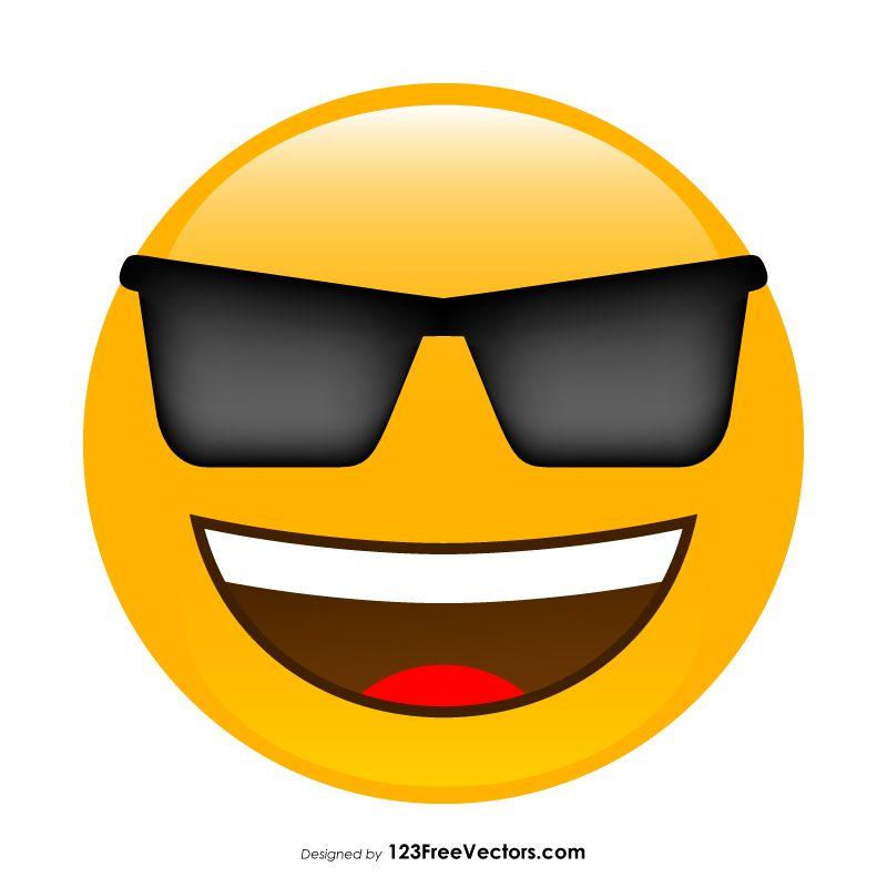 Cool Face Emoji Cool Face Emoji Face