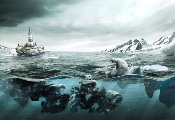 Hidden Consequences / Greenpeace by Martín De Pasquale, via Behance