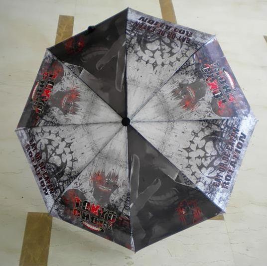 tokyo ghoul Anime Manga Taschenschirm Regenschirm Schirm R.100cm Neu
