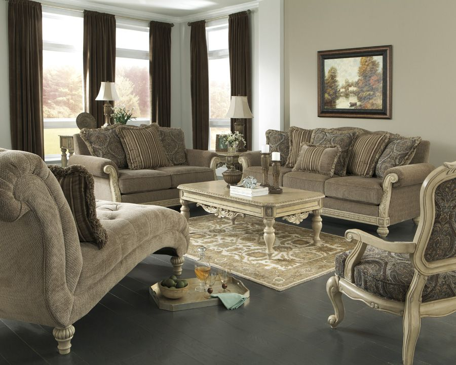 The Complete Parkington Bay Living Room Collection The