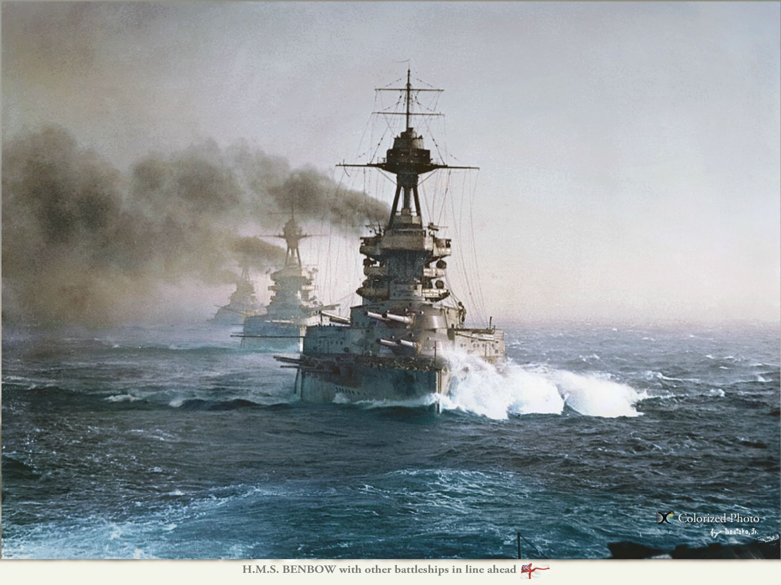 Battleship HMS Benbow, World War I 42