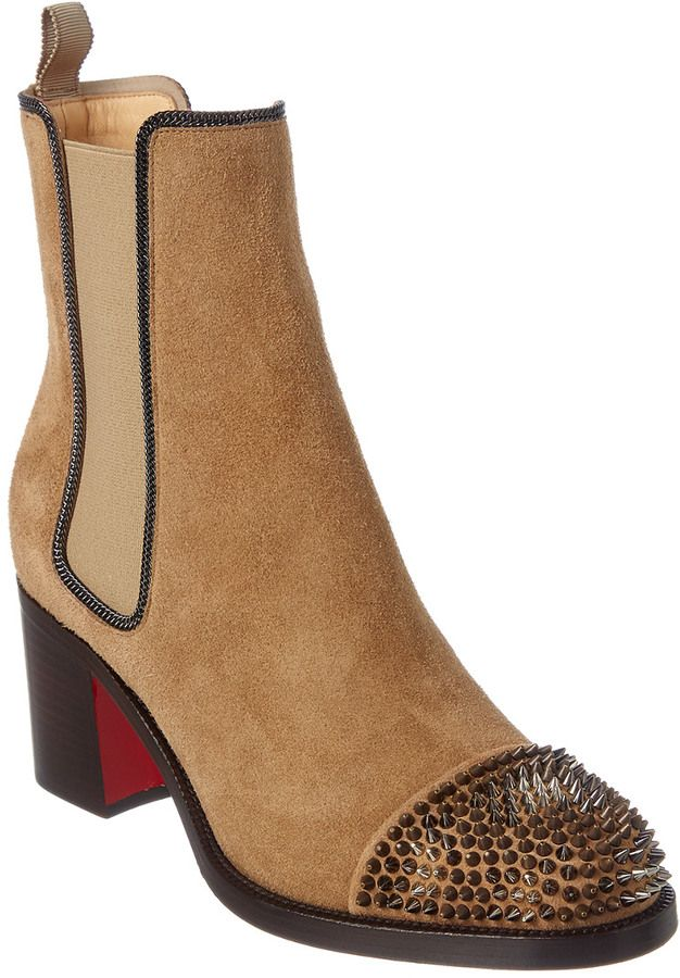04ebfd2fd447 Christian Louboutin Otaboo 70 Spiked Suede Boot