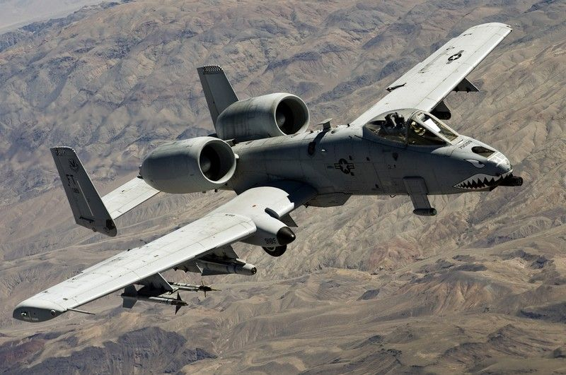 United States Air Force A 10 Thunderbolt Ii Close Air Support Close Air Support Us Military Aircraft United States Air Force