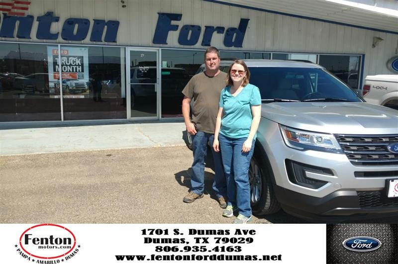 congratulations davy christina on your ford explorer from ja miah burnett at fenton ford of dumas ford dumas ford explorer pinterest