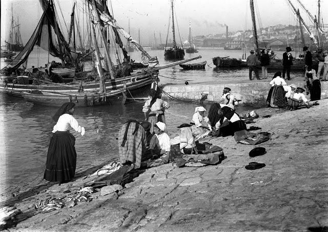 Varinas Cais Sodré (Ribeira Nova) 1909
