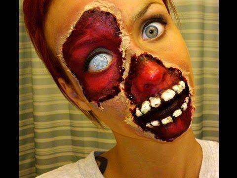 Halloween Series 2013: Blood & Gore/Zombie Makeup Tutorial