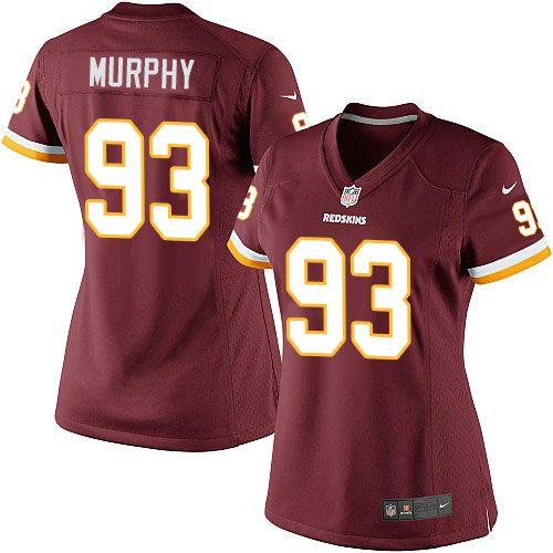 trent murphy redskins jersey