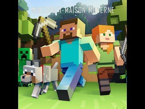 Minecraft WII U Édition-tuto comment faire une maison moderne ...