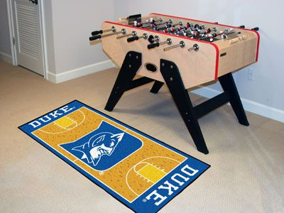This Duke Basketball Court Runner Rug will look good in your bed room, living room, game room, even laundry room, basically any where. Come and get one! Free shipping.