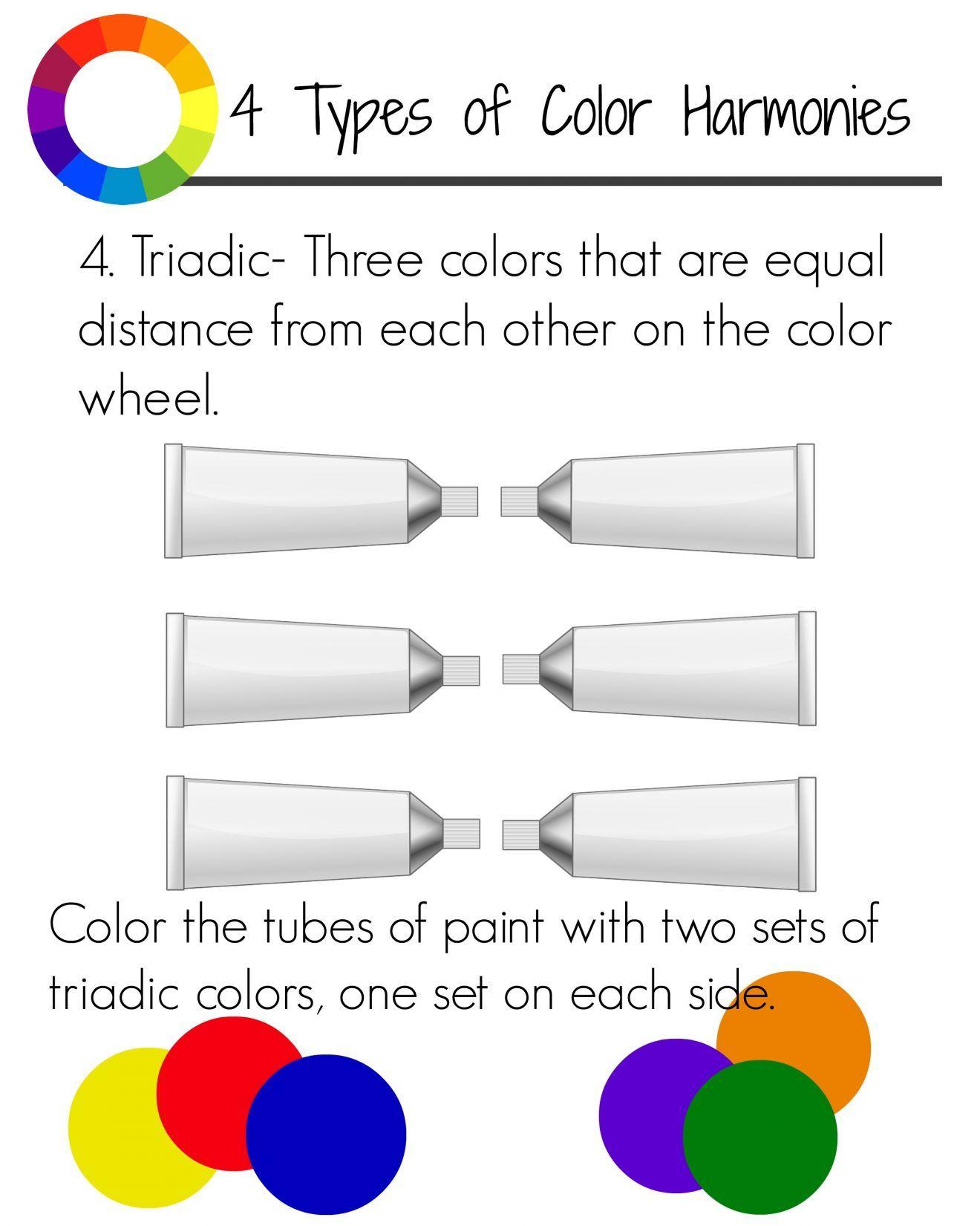 Color Harmonies Workbook