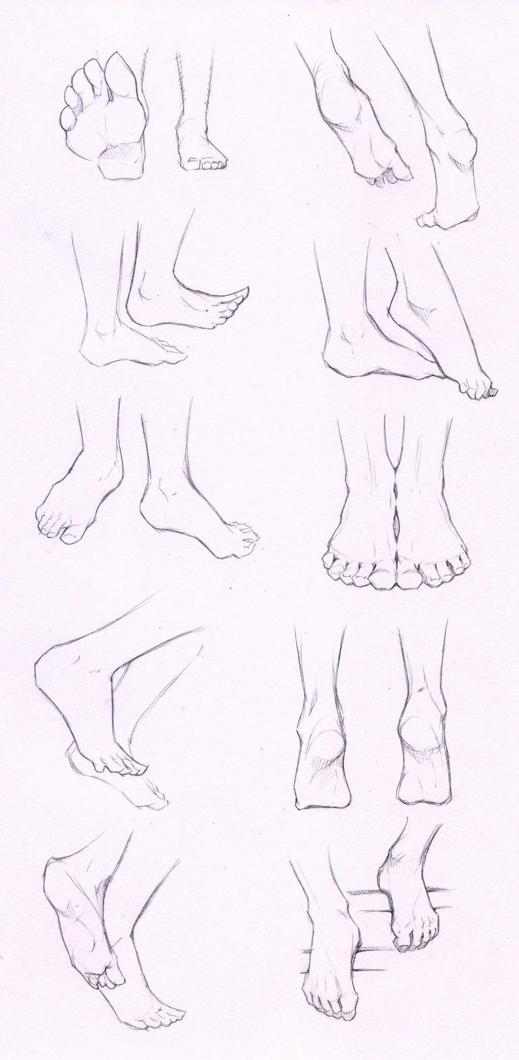 Feet Stock Practice 1 By Azizlaviantart On