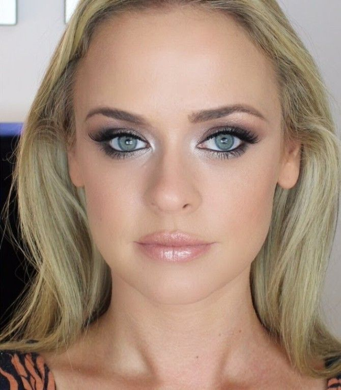 Pin By Red Sparrow On Wedding Makeup Makeup For Blondes Blonde
