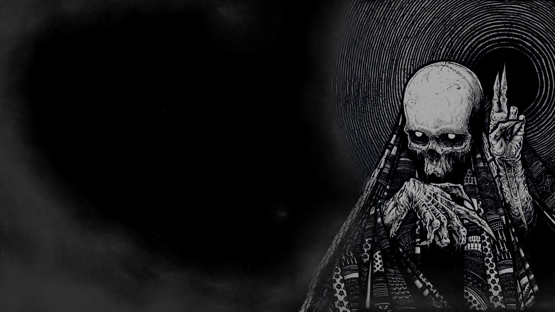 Dark Skull Hd Wallpaper 2021 Live Wallpaper Hd Black Skulls Wallpaper Skull Wallpaper Desktop Wallpaper Art