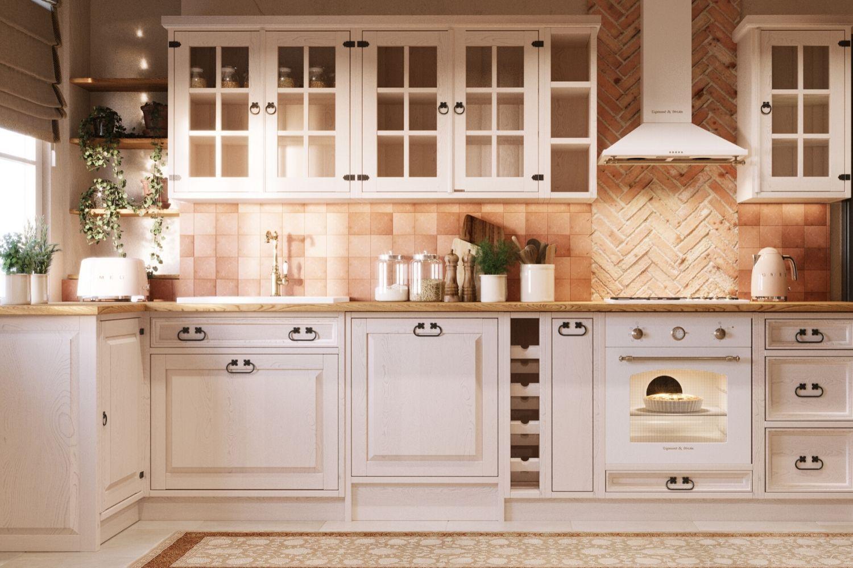 Pin On Meble Kuchenne Rustic Kitchen Kuchnie Rustykalne Prownsalskie